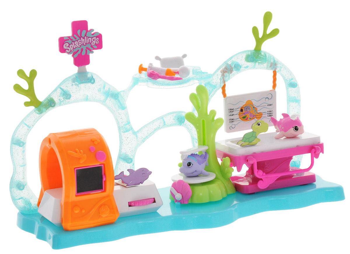 Splashlings Игровой набор Медицинский Центр где модно медицинский универсальный карсет