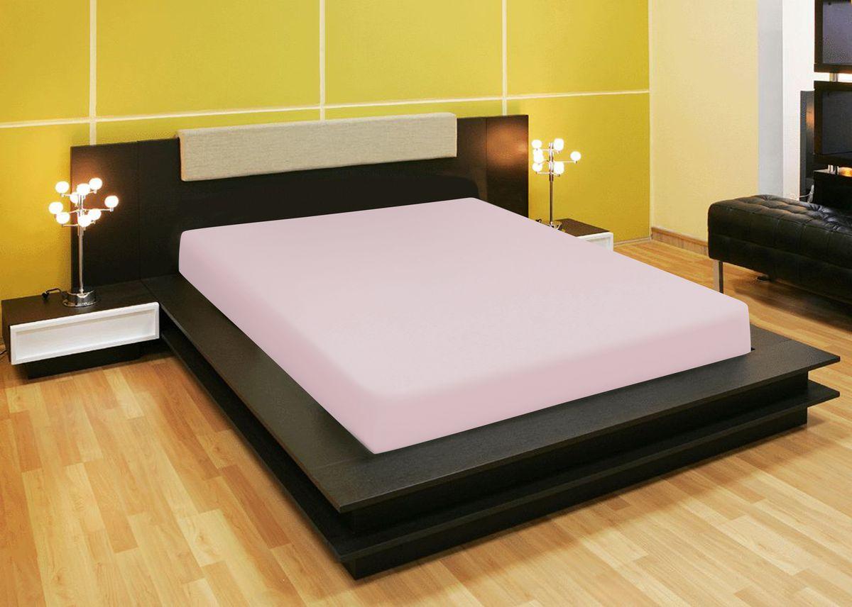 Простыня Amore Mio, на резинке, цвет: розовый, 90 х 200 см98299571Простыня изготовлена из 100% хлопка. Он обладает высокими тактильными характеристиками, замечательно отводит излишнюю влагу, хорошо пропускает воздух, не нуждается в глажке. Трикотажная простыня на резинке - это уникальный товар, великолепная находка для дома, поскольку сочетает в себе универсальность и удобство. Она легко и ровно фиксируется на поверхности спального места, без замятых или скомканных областей и не съезжает во время сна.Размер простыни: 90 х 200 х 20 см.