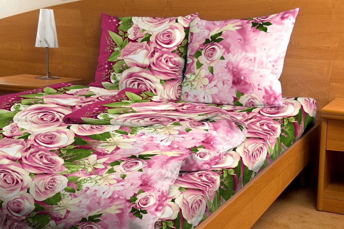 Комплект белья Amore Mio Romantika, 1,5-спальный, наволочки 70x70 amore mio постельное белье romantika семейный