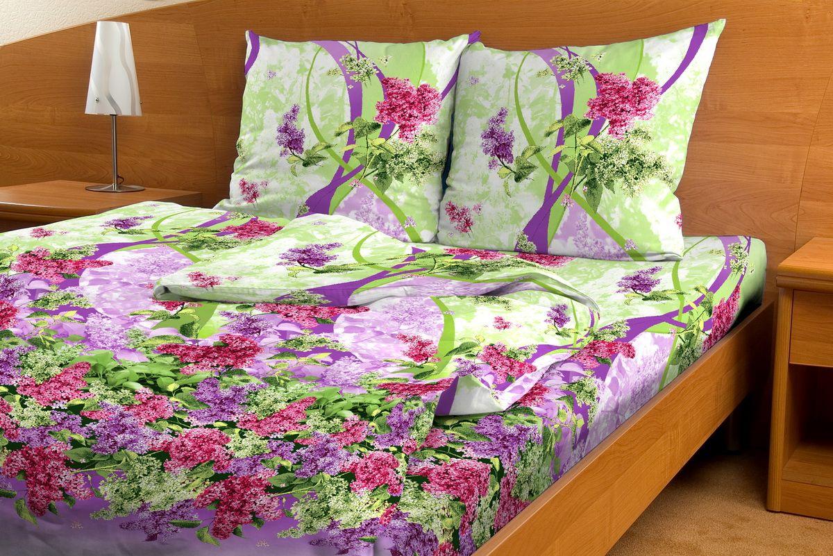 Комплект белья Amore Mio Sirenevii priliv, 2-спальный, наволочки 70x70RC-100BWCКомплект постельного белья Amore Mio является экологически безопасным для всей семьи, так как выполнен из бязи (100% хлопок). Комплект состоит из пододеяльника, простыни и двух наволочек. Постельное белье оформлено оригинальным рисунком и имеет изысканный внешний вид.Легкая, плотная, мягкая ткань отлично стирается, гладится, быстро сохнет. Рекомендации по уходу: Химчистка и отбеливание запрещены.Рекомендуется стирка в прохладной воде при температуре не выше 30°С.
