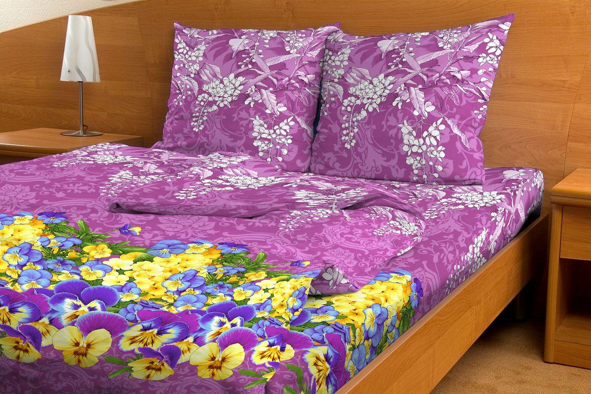 Комплект белья Amore Mio Rassvet, 2-спальный, наволочки 70x70, цвет: фиолетовый, желтый391602Комплект постельного белья Amore Mio является экологически безопасным для всей семьи, так как выполнен из бязи (100% хлопок). Комплект состоит из пододеяльника, простыни и двух наволочек. Постельное белье оформлено оригинальным рисунком и имеет изысканный внешний вид.Легкая, плотная, мягкая ткань отлично стирается, гладится, быстро сохнет. Рекомендации по уходу: Химчистка и отбеливание запрещены.Рекомендуется стирка в прохладной воде при температуре не выше 30°С.