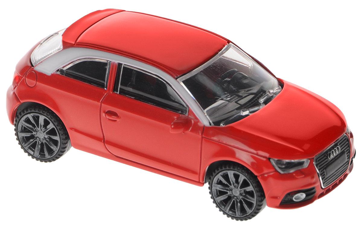 Rastar Модель автомобиля Audi A1 цвет красный welly модель автомобиля audi r8 v10 цвет красный
