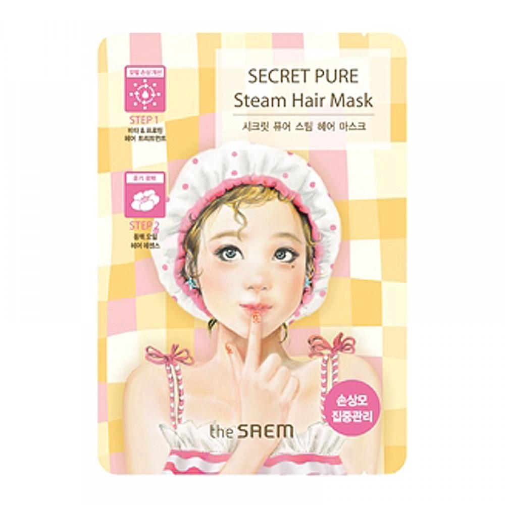 The Saem Маска для поврежденных волос паровая Secret Pure Steam Hair Mask, 15 гр*5 грFS-54114Укрепляющая маска для поврежденных волос. Ее формула обладает двухступенчатой системой ухода и способствует их общему оздоровлению, в результате чего они приобретают притягательный блеск и сияние. Витакомплекс и протеины активно питают волосяные фолликулы, препятствуя их дальнейшему повреждению, вследствие чего волосы становятся более крепкими и густыми, наполняются энергией снаружи и изнутри. Масло камелии сохранит влагу в клетках кожи, защитит от сечения и расслоения, «запечатает» встопорщенные волосяные чешуйки.