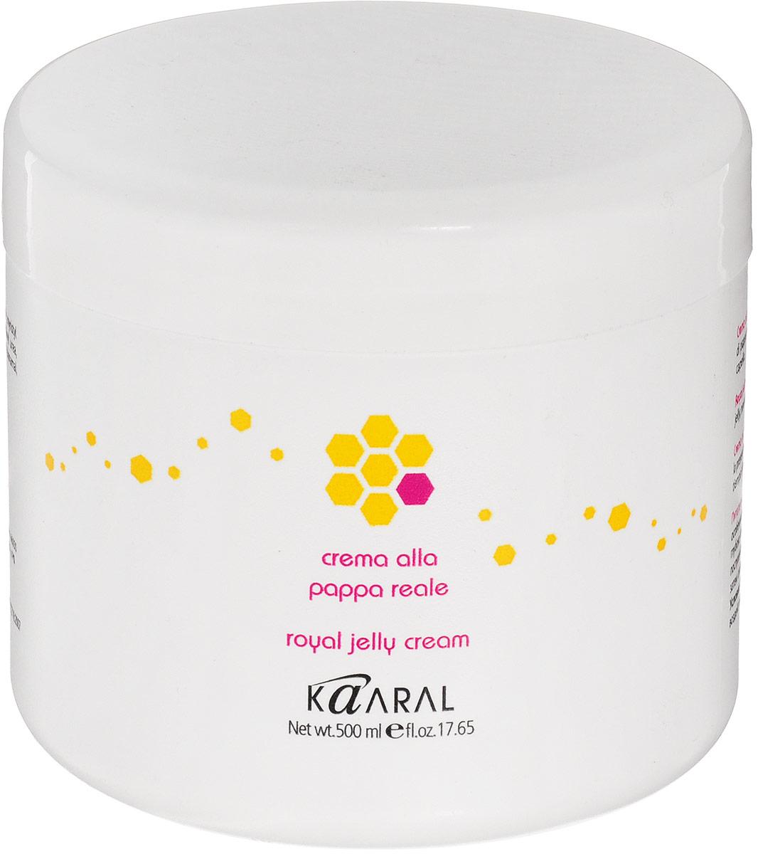 Kaaral Реконструирующая маска для волос с пчелиным маточным молочком Royal Jelly Cream, 500 мл004АМощный восстанавливающий комплекс для самых поврежденных волос. Наличие в составе пчелиного маточного молочка и более 110 активных ингредиентов (аминокислоты, протеины, поливитаминный комплекс и т.д.) позволяет восстановить и реанимировать любой силы поврежденные волосы. Желеобразная консистенция делает использование маски максимально экономичным и удобным. Легко смывается водой, не утяжеляет волосы, делая их послушными и шелковистыми.