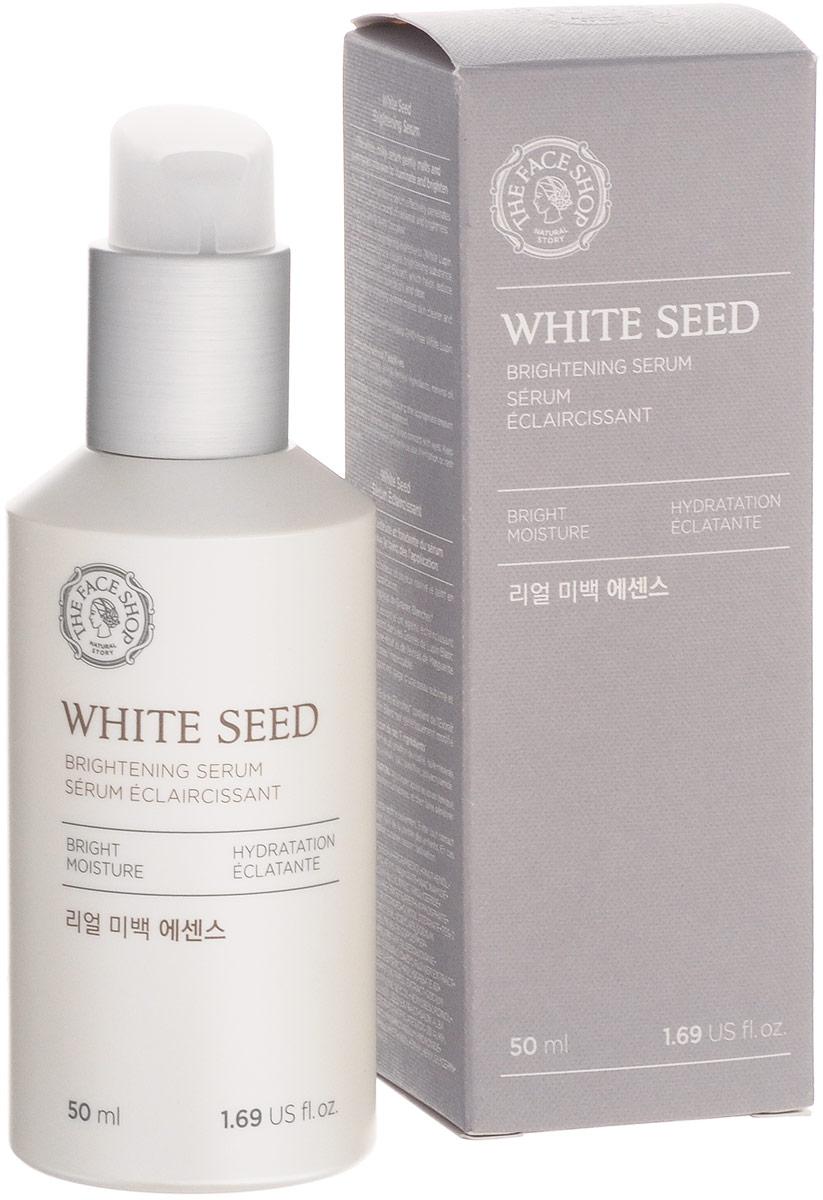 The Face Shop Осветляющая сыворотка White Seed, 50 мл7118628Эффективное осветление и природное сияние вашей кожи! Сыворотка White Seed создана для бережного отбеливания кожи. Мягко осветляя кожу, она эффективно питает кожу, насыщая ее витаминами, необходимыми для поддержания здорового внешнего вида.