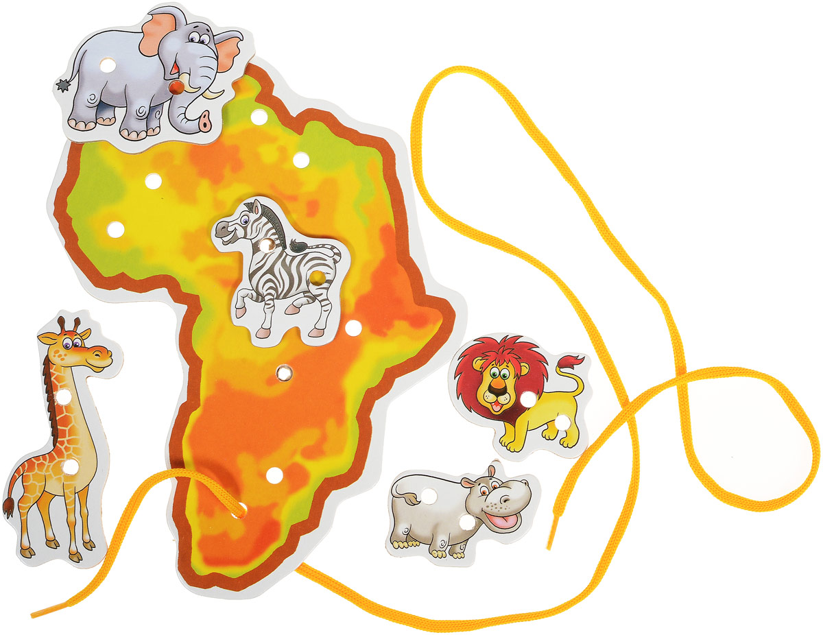 Улыбка Шнуровка Африка