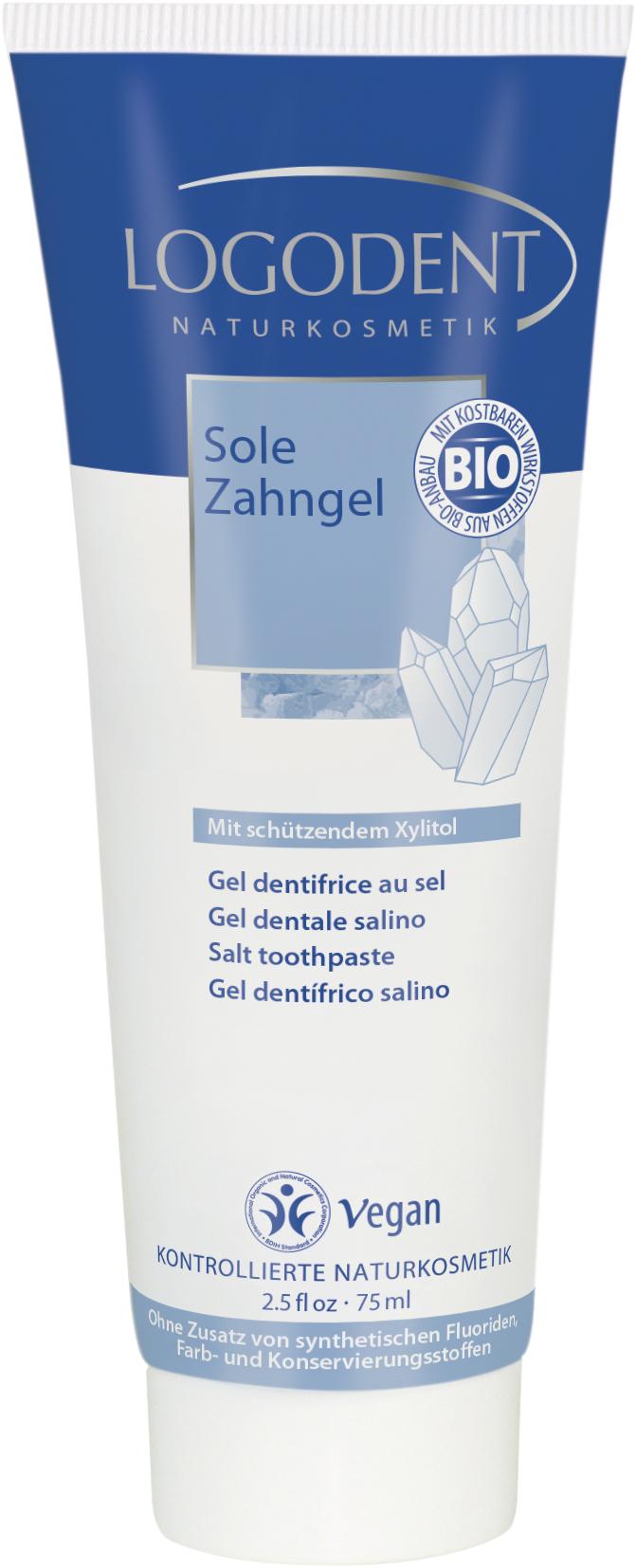 Logodent гелевая зубная паста «Солевая» 75 млSatin Hair 7 BR730MNС ксилитом для защиты зубов.Активизирует процесс самоочистки полости рта нейтрализует вредные пищевые кислоты поддерживает естественные кислотно-щелочной баланс полости рта. (Ph баланс = 7). Ежедневное использование защищает зубы от кариеса и формирования зубного камняАктивные ингредиенты, как морская соль и экстракт органической ромашки и гвоздики дезинфицируют, снимают воспаление, оказывают бактерицидное действие,Без фторидов, синтетических красителей и консервантовНе содержит мяты и ментола. Не ослабляет действия гомеопатических препаратов, рекомендована врачами-гомеопатами