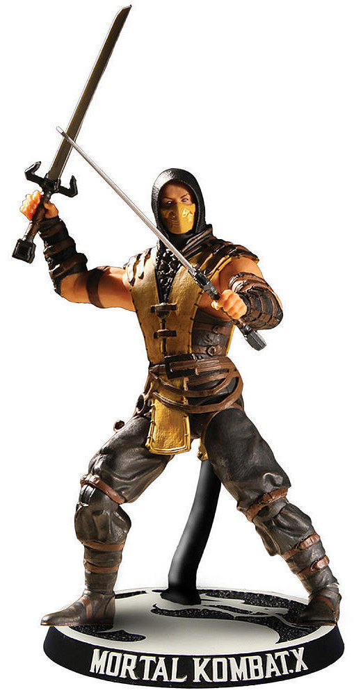 Mortal Kombat X. Фигурка Scorpion mortal kombat xl xbox one