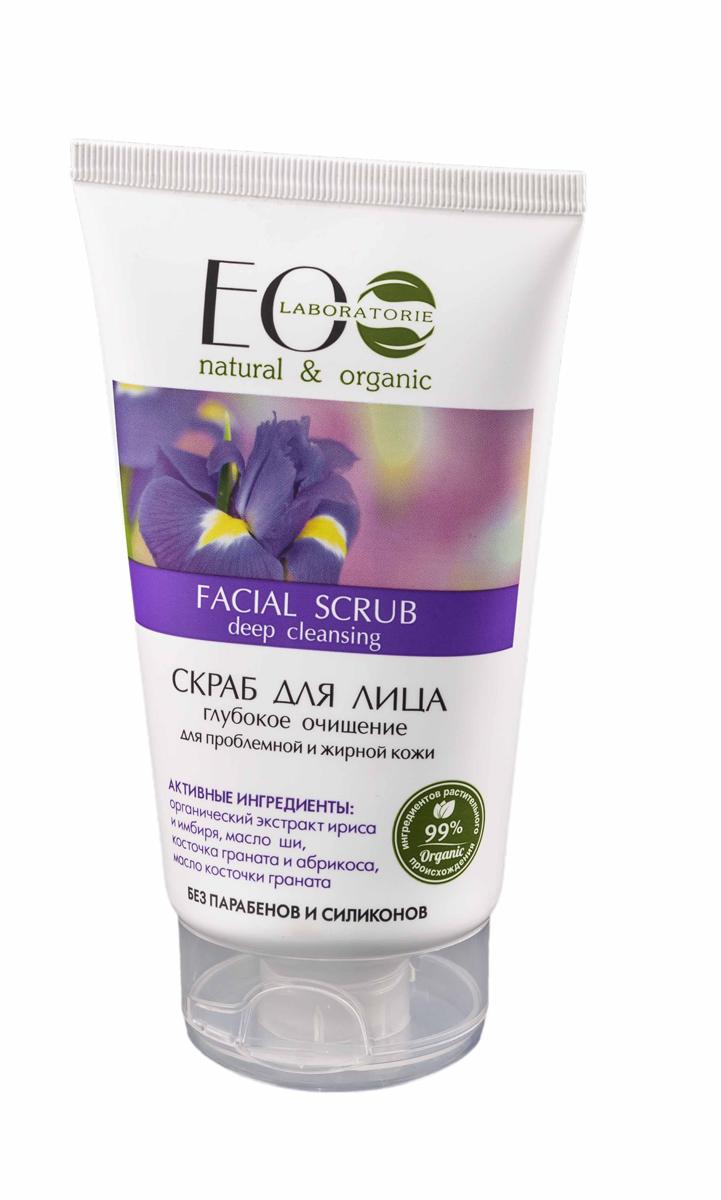EcoLab ЭкоЛаб Скраб для лица Глубокое очищение для проблемной и жирной кожи 150 млFS-00897Скраб на кремовой основе деликатно и эффективно очищает и обновляет кожу. Комплекс масел и растительных экстрактов специально подобранных для проблемной и жирной кожи способствует эффективному, глубокому очищению, сужению пор. Оказывает антисептическое и заживляющее действие. Активные ингредиенты: органический экстракт ириса и имбиря, масло ши, косточки граната и абрикоса, масло косточек граната.
