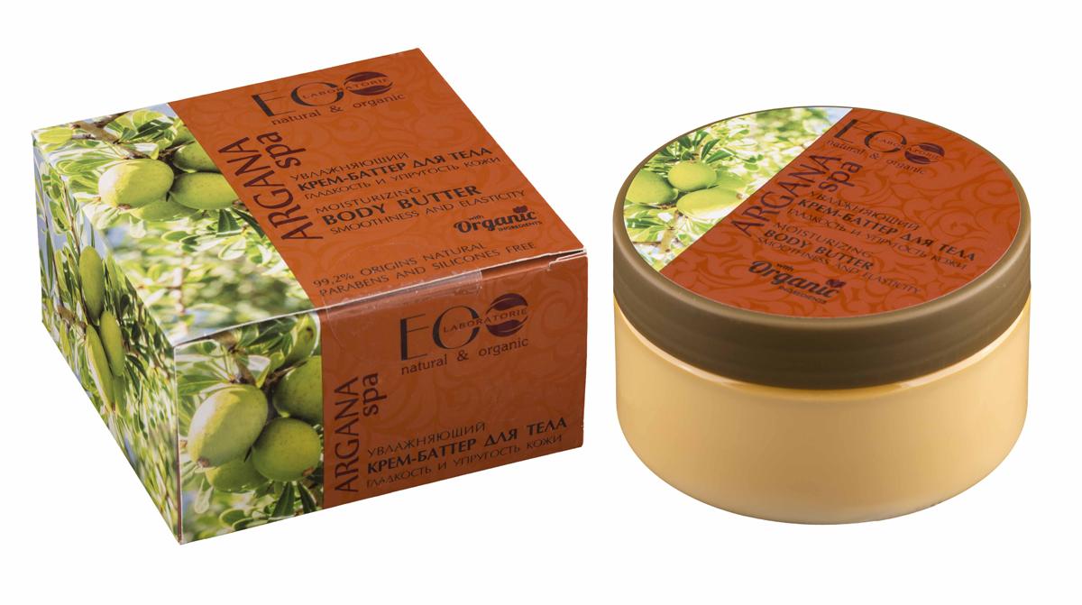 EcoLab ЭкоЛаб Увлажняющий Крем баттер Гладкость и Упругость кожи4627089432315SPA-уход в домашних условиях. На основе ценного масла арганы. Сбалансированная формула крема-баттера оказывает двойное действие: питает и активно увлажняет кожу, помогает восстановить естественный баланс и поддержать природную красоту кожи, повышает ее упругость и эластичность. Активные ингредиенты: масло арганы, органический экстракт алое вера, экстракт вербены