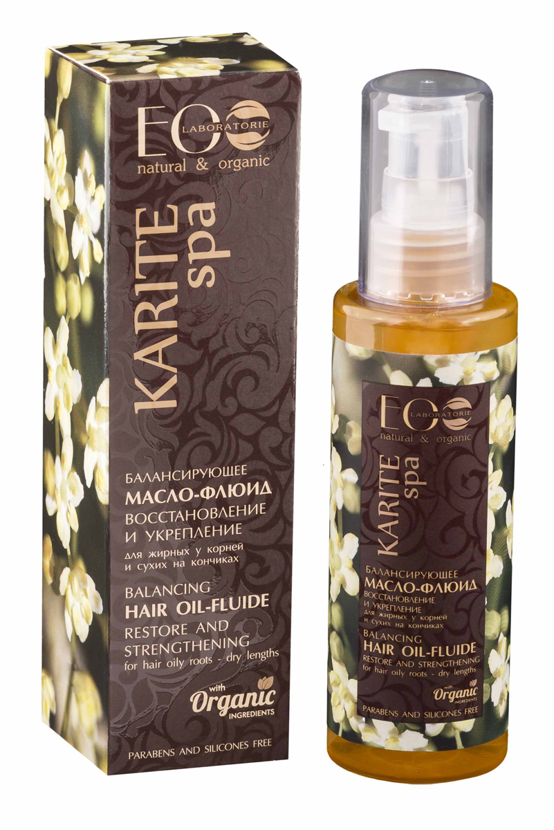 EcoLab ЭкоЛаб Балансирующее Масло для волос для восстановления сухих кончиков волос 100 мл4751006751699Оказывает комплексное восстанавливающее действие на волосы и кожу головы. Делает волосы более сильными, блестящими и послушными, стимулирует рост волос.Активные ингредиенты: аргановое масло, органическое масло оливы, миндаля и зародышей пшеницы, коллаген, молочные протеины.