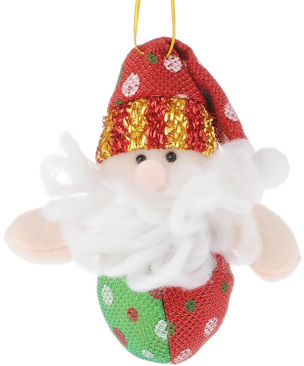 Украшение новогоднее подвесное Феникс-Презент Дед мороз круглый, высота 12 смAPI0167Новогоднее подвесное украшение Феникс-Презент Дед мороз круглый выполнено из полиэстера. С помощью специальной петельки украшение можно повесить в любом понравившемся вам месте. Но, конечно, удачнее всего оно будет смотреться на праздничной елке.Елочная игрушка - символ Нового года. Она несет в себе волшебство и красоту праздника. Создайте в своем доме атмосферу веселья и радости, украшая новогоднюю елку нарядными игрушками, которые будут из года в год накапливать теплоту воспоминаний.