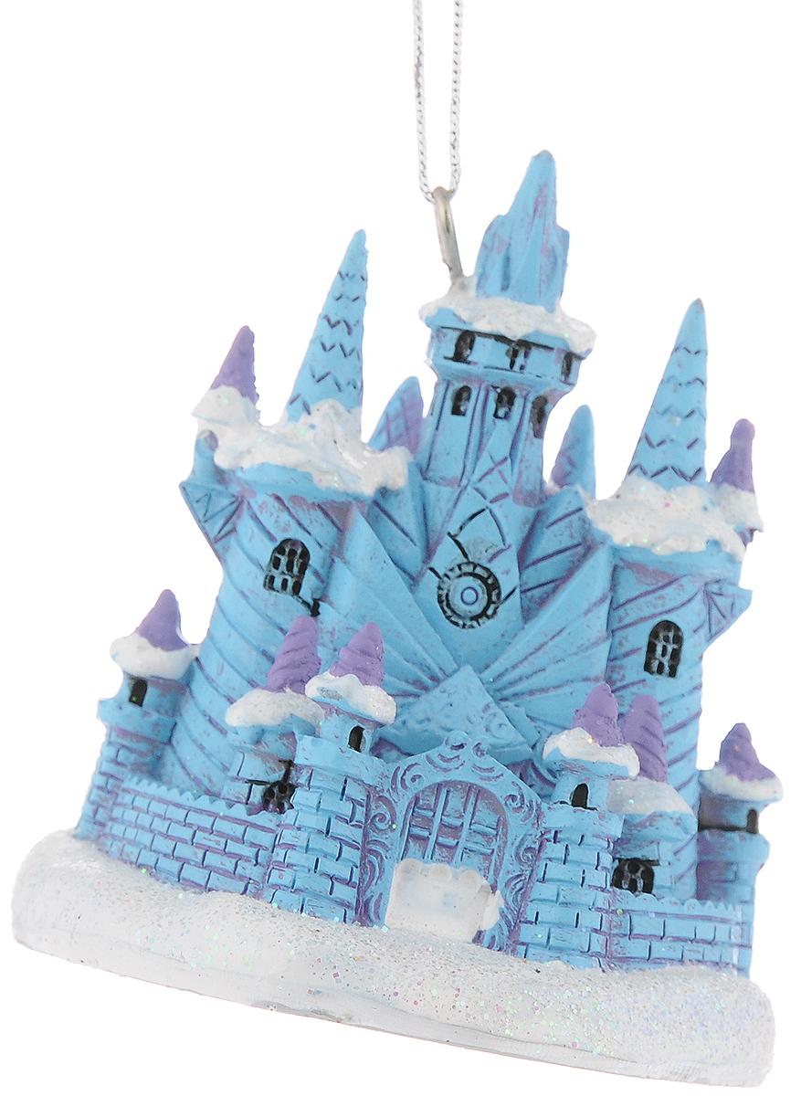 Украшение новогоднее подвесное Феникс-Презент Ледяной замок, 7,7 x 7 x 7,8 смNLED-454-9W-BKНовогоднее подвесное украшение Феникс-Презент Ледяной замок выполнено из полирезины в форме замка и украшено блестками. С помощью специальной петельки украшение можно повесить в любом понравившемся вам месте. Но, конечно, удачнее всего оно будет смотреться на праздничной елке.Елочная игрушка - символ Нового года. Она несет в себе волшебство и красоту праздника. Создайте в своем доме атмосферу веселья и радости, украшая новогоднюю елку нарядными игрушками, которые будут из года в год накапливать теплоту воспоминаний.Материал: полирезина.Размеры: 7,7 x 7 x 7,8 см.