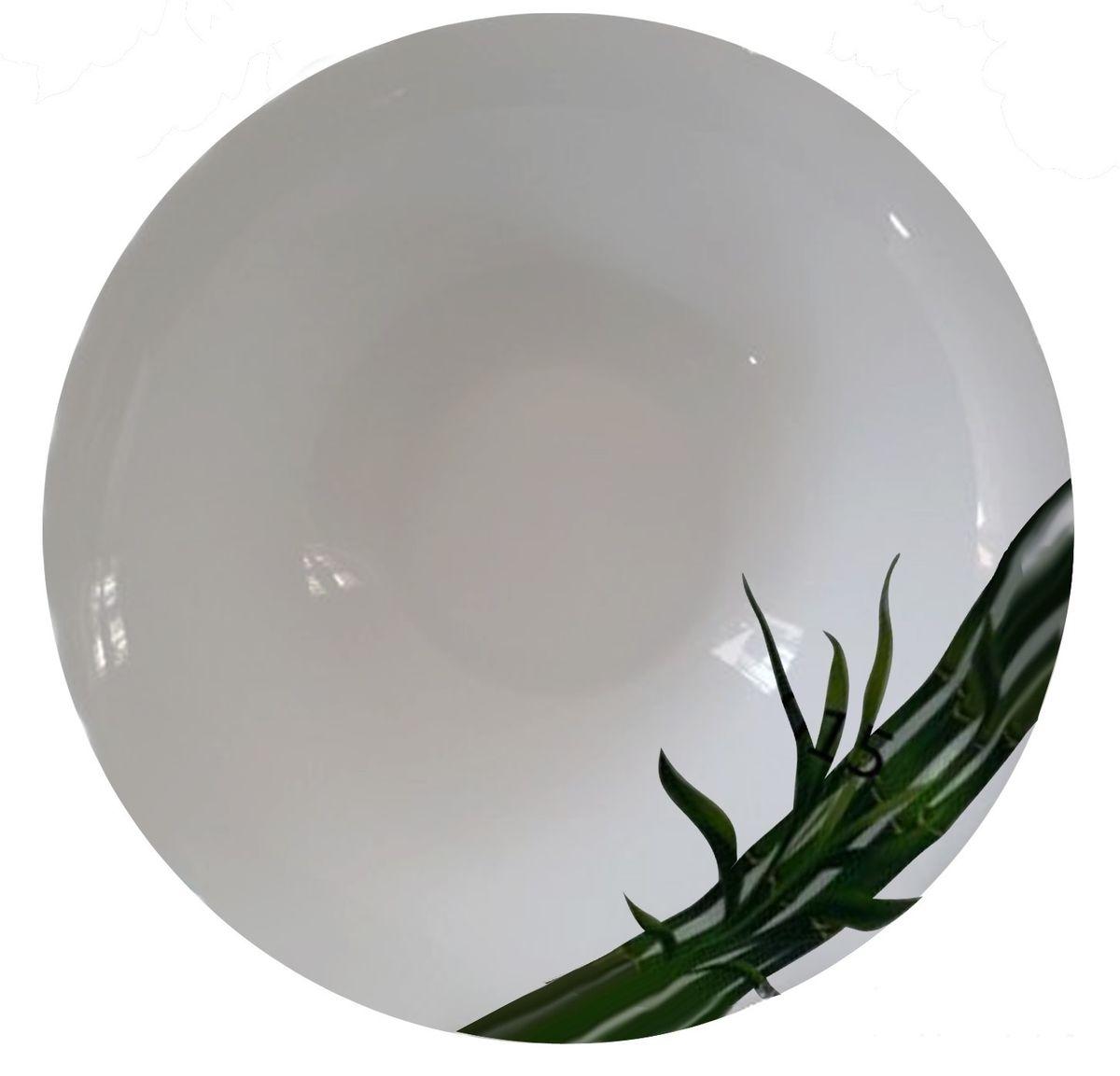 Салатник МФК-профит Бамбук, цвет: белый, зеленый, 950 мл391602Салатник МФК-профит Бамбук изготовлен из керамики. Внутренние стенки оформлены красивым узором. Такой салатник прекрасно подойдет как для торжественных случаев, так и для повседневного использования. Идеален для салатов, закусок, соусов. Можно использовать в посудомоечной машине и СВЧ.