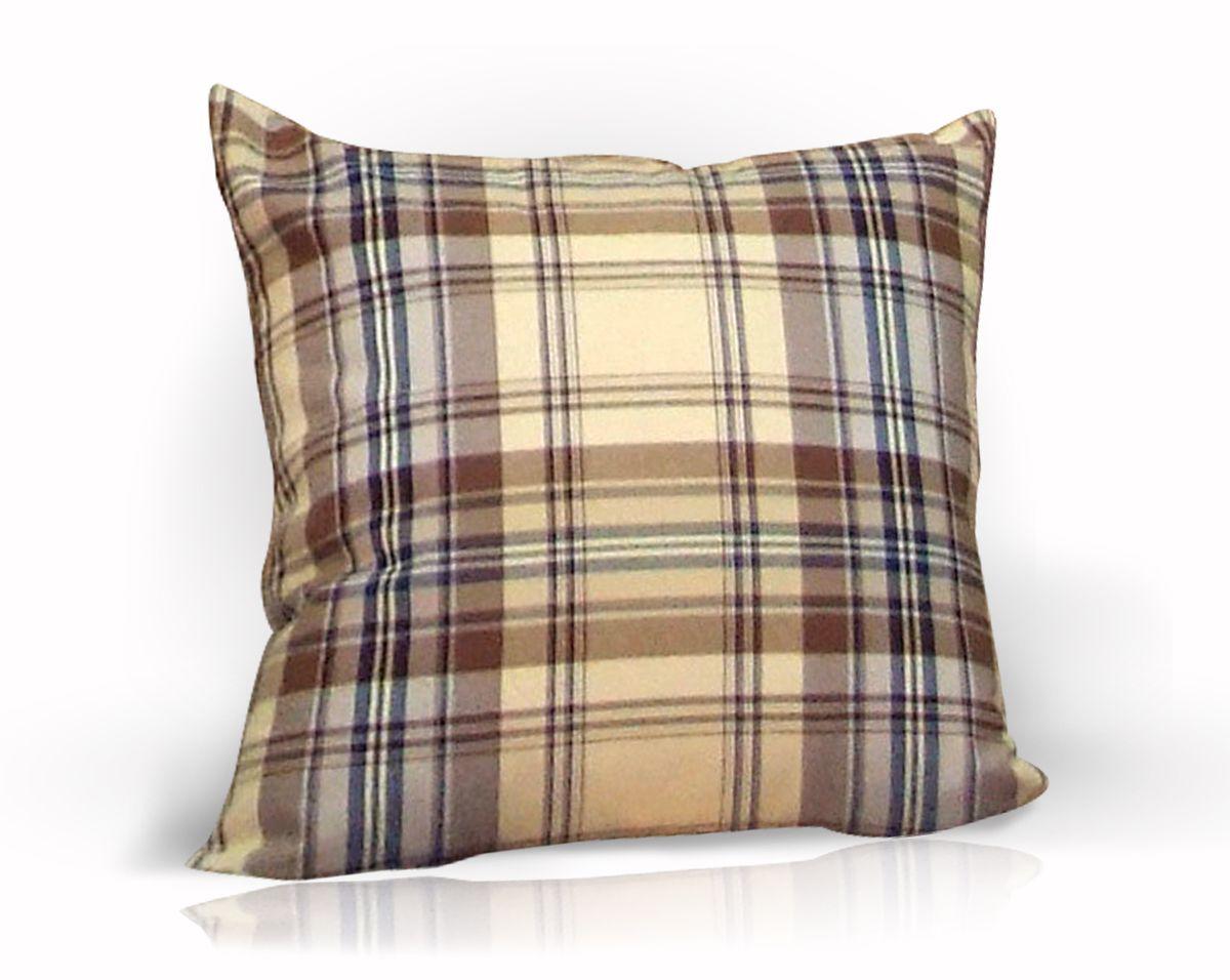 Подушка декоративная KauffOrt Осло, 39 x 39 смUP110DFДекоративная подушка Осло прекрасно дополнит интерьер спальни или гостиной. Чехол подушки выполнен из 27% хлопка, 32% полиэстера, 41% акрила. Внутри находится мягкий наполнитель. Чехол легко снимается благодаря потайной молнии.