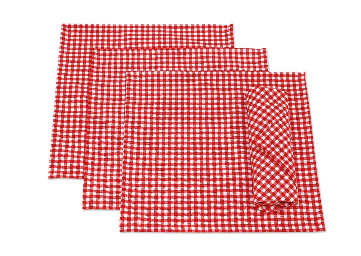 Набор сервировочных салфеток Kauffort Лилу, 32 x 32 см, 4 шт. 3132217630ПЦ1564МРНабор Kauffort Лилу, изготовленный из 50% хлопка и 50% полиэстера, состоит из четырех сервировочных салфеток. Изделия имеют оригинальный дизайн. Салфетки защищают поверхность стола от воздействия температур, влаги и загрязнений, а также украшают интерьер. Размер салфетки: 32 х 32 см.