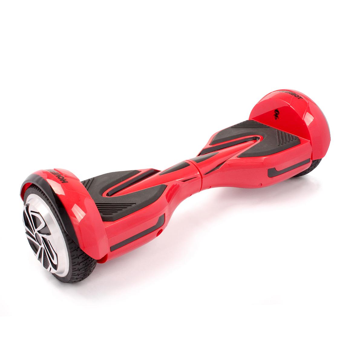 """Гироскутер Hoverbot A-12 (H-2), цвет: красныйAIRWHEEL S6-260WHГироскутер Hoverbot A12 имеет современный спортивный дизайн, который располагаетк быстрой езде. Данная модель отлично подойдёт для опытных пользователей.Устройство по праву занимает одно из достойных мест в классе 6,5 колёс. Имея большойзапас хода и мощный мотор (2х400W) Hoverbot A12, бесшумно преодолевает расстояниев 15 км на одном заряде батареи. Хорошее сцепление с дорогой и устойчивый ход бордаA12 позволяет опытным райдерам быстро набирать скорость и успешно маневрироватьдаже в самых экстремальных ситуациях. Покупая Hoverbot A12 вы покупаете не толькосредство для развлечения, но и универсальное средство передвижения, которое можнолегко брать с собой в дорогу, поскольку он компактен и помещается в любую машину.Благодаря своему небольшому весу (10 кг) вы легко можете взять его в руки зацентральную часть борда и перенести через препятствие, продолжить свой путь вавтобусе, либо в метро. Hoverbot А12 оснащён передними ходовыми огнями игабаритами сзади. Вся подсветка выполнена из светодиодных лампочек и имеет долгийсрок службы.Характеристики:1. Цвета: black, yellow, red2. Возможная дистанция: 15 км3. Максимальная скорость: 15 км/ч4. Аккумулятор: Lithium 4.4 Ah5. Размер колеса: 6,5"""" (165 мм)6. Мощность мотора: 2х400 W7. Максимальная нагрузка: 120 кг8. Время заряда/сеть: 120 мин/220В9. Вес нетто: 10 кг10. Вес брутто: 11,5 кг11. Влагозащита: IP5412. Условия эксплуатации: 10°C до +50°C13. Размер коробки: 675х260х26514. Комплектация/особенности: Зарядное устройство."""
