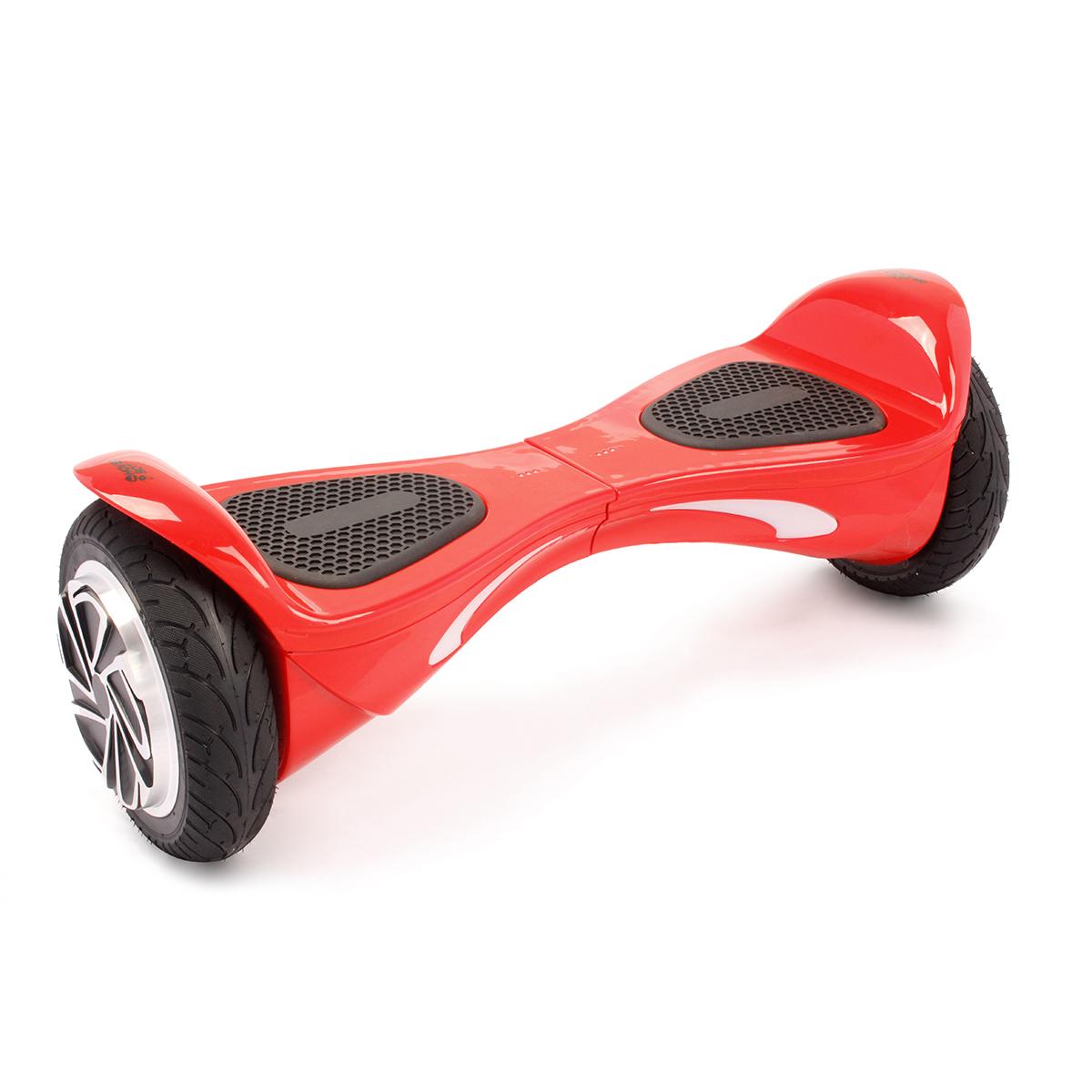 """Гироскутер Hoverbot B-2 (A-9), цвет: красныйGB2RDГироскутер Hoverbot B-2 имеет высокий клиренс и спортивный корпус – он выглядит очень эргономично и современно. Не смотря на высокую посадку, гироборд уверенно стоит на широких 8"""" колёсах, которые отлично справляются со своей задачей – уверенно держать дорогу на высокой скорости. Он не только быстро разгоняется, но и хорошо оттормаживается, не зависимо от веса пользователя или дорожных условий. Очень резвая модель B-2 моментально откликается на изменение в управлении и быстро подстраивается под индивидуальные запросы райдера. Покупая гироборд Hoverbot B-2 вы приобретаете не только отличное средство передвижение, но также незаменимого и верного спутника, который скрасит ваше времяпрепровождение отличной музыкой через встроенные динамики в корпусе борда. Музыка передаётся через Bluetooth устройство на любом из ваших гаджетов. Данная модель подойдёт опытным пользователям. В комплект входит зарядное устройство. Технические характеристики. Цвета: black, blue, red. Возможная дистанция: 15 км. Максимальная скорость: 15 км/ч. Аккумулятор: Lithium 4.4 Ah. Размер колеса: 8"""" (200 мм). Мощность мотора: 2 х 400 W. Максимальная нагрузка: 120 кг. Время заряда/сеть: 120 мин/220В. Вес нетто: 10 кг. Вес брутто: 12,5 кг. Влагозащита: IP54. Условия эксплуатации: -10°C +50°C. Размер коробки: 650х230х245. Комплектация: Зарядное устройство."""