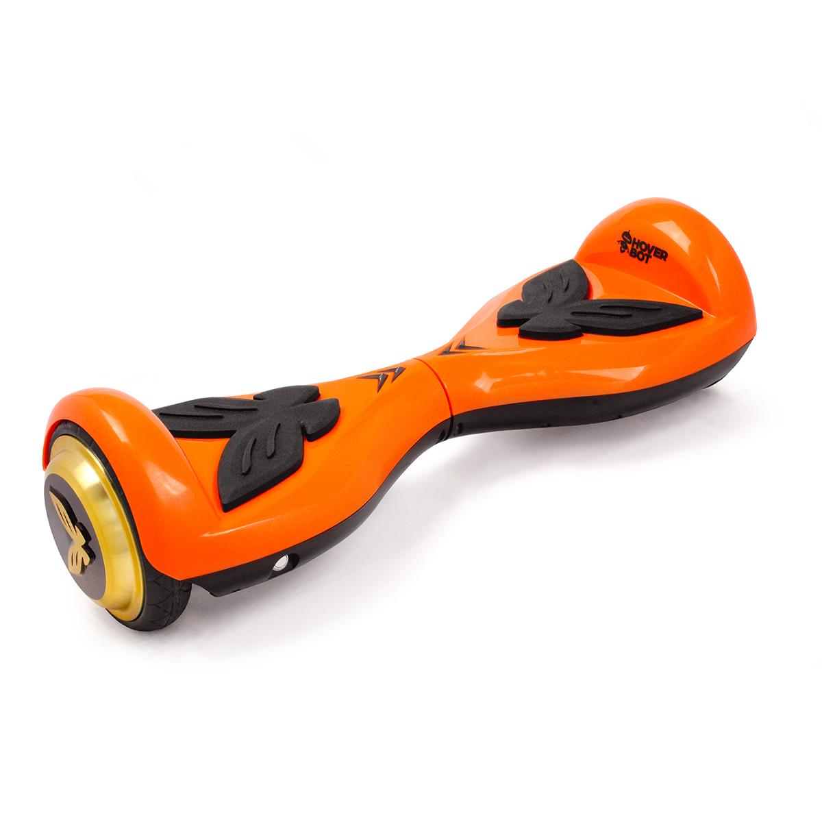 Гироскутер Hoverbot K-2, детский, цвет: оранжевыйAIRWHEEL Q3-340WH-BLACKHoverbot K-2 детская модель гироборда. Идеально подойдёт для ребёнка весом до 60 кг, который делает свои первые пробные заезды. Управлять данным устройством очень легко, и ваш ребёнок быстро освоит все азы управления. Педали из мягкой резины выполнены в форме бабочек. Дизайн гироборда оценят девочки любого возраста. Колёса выполнены из прочной резины, колёсные диски имеют золотой цвет. Покупая Hoverbot K-2 вы приобретаете долговечное и безопасное устройство из прочного пластика, в ярком дизайне и с отличными техническими характеристиками. Технические характеристики: Возможная дистанция: 10 кмМаксимальная скорость: 5 км/чАккумулятор: Lithium 42V 2.2 AHРазмер колеса: 4,5 dМощность мотора: 2 х 250WМаксимальная нагрузка: 60 кгВремя заряда/сеть: 60 мин/220ВВес нетто: 6 кгВес брутто: 8 кгВлагозащита: IP54, Условия эксплуатации: -10°C + 50°C. Комплектация: Зарядное устройство, гарантийный талон, сертификат, инструкция