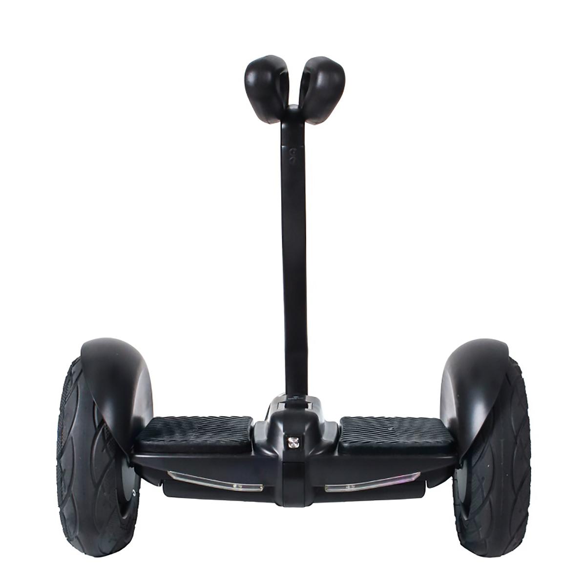 Гироскутер Hoverbot MINI, цвет: черныйAIRWHEEL X8-170WH-WHITEМини Сигвей Hoverbot mini представляет собой уменьшенную копию сигвея, управление которым осуществляется коленями. Данная модель Hoverbot'а развивает максимальную скорость в 16 км/ч и преодолевает расстояние на одном заряде до 22 км. Имеет световую подсветку и габариты на передней части корпуса. Лёгкое в управление устройство Hoverbot mini станет незаменимым спутником в прогулках по паркам, езде на работу, его можно легко поднять и перенести в другое место. В комплект входит зарядное устройство и пульт управления. Технические характеристики: Возможная дистанция: 22 кмМаксимальная скорость: 16 км/чАккумулятор: Lithium 54 V 4.4AHРазмер колеса: 10 dМощность мотора: 2x350W Максимальная нагрузка: 100 кгВремя заряда/сеть: 120 мин/220ВВес нетто: 12.3 кгВес брутто: 14,1 кгВлагозащита: IP55Условия эксплуатации: -10°C + 50°C. Bluetooth. Приложение Mini Robot. Комплектация: Зарядное устройство, гарантийный талон, сертификат, инструкция