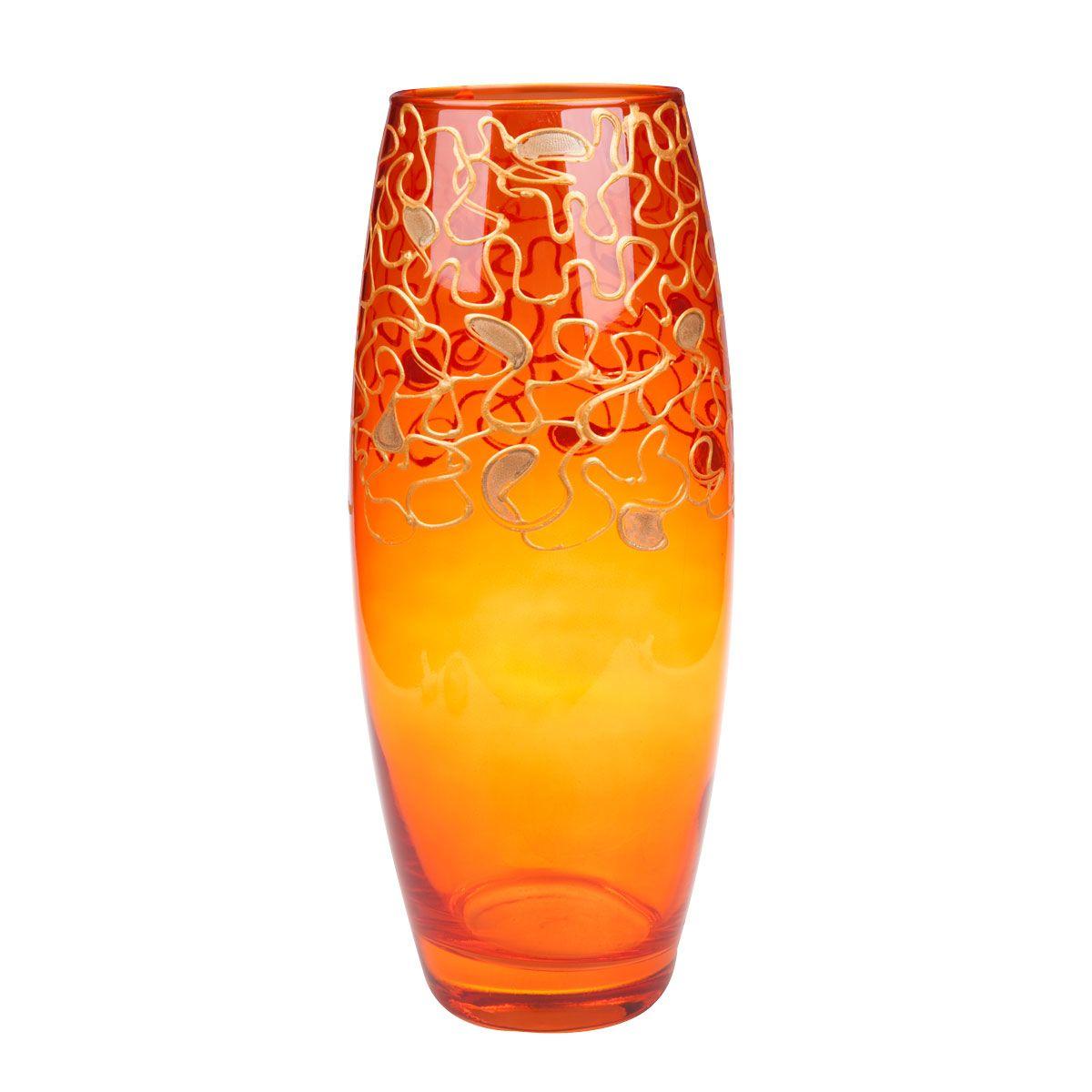 Ваза N/A Шарифа, цвет: золотистый, высота 26 см214550Декоративные вазы в наше время пользуются очень большим спросом. Любители украшать свой дом, оценят этот античный сосуд, который может стать не только красивым, но и практичным дополнением любого интерьера.