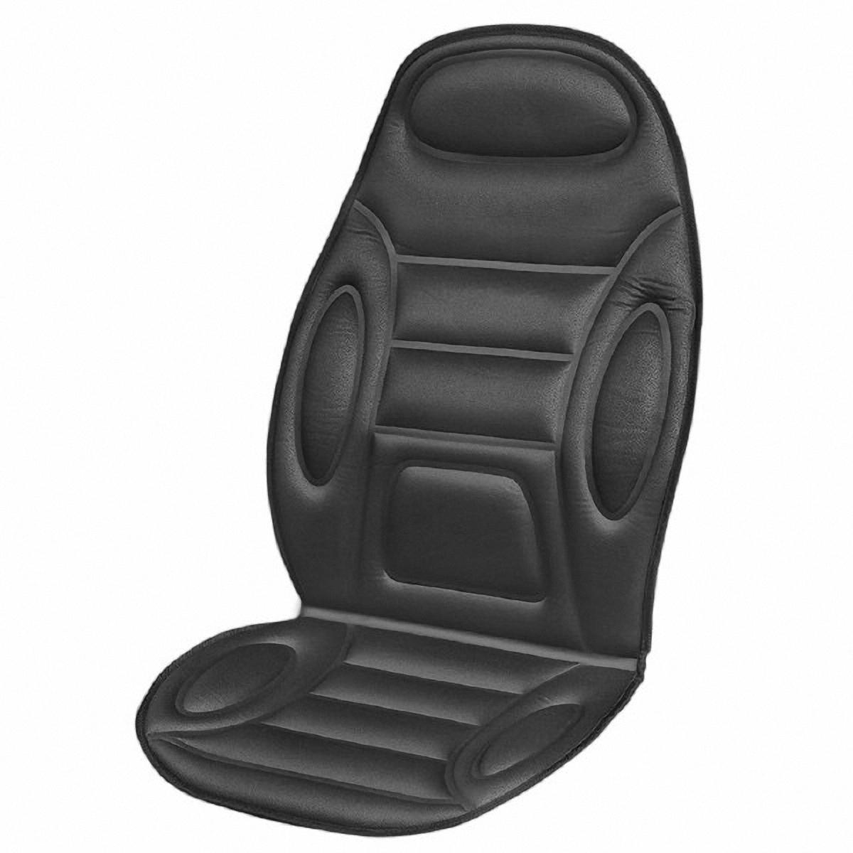 Подогрев для сиденья Skyway, со спинкой, цвет: черный, 120 х 51 смVCA-00В подогреве для сиденья Skyway в качестве теплоносителя применяется углеродный материал. Такой нагреватель обладает феноменальной гибкостью и прочностью на разрыв в отличие от аналогов, изготовленных из медного или иного металлического провода.Особенности:- Универсальный размер.- Снижает усталость при управлении автомобилем.- Обеспечивает комфортное вождение в холодное время года.- Простая и быстрая установка.- Умеренный и интенсивный режим нагрева.- Терморегулятор для изменения интенсивности нагрева.- Защита крепления шнура питания к подогреву.Устройство подключается к прикуривателю на 12Вbr>Сила тока: 4-4,5 А.Напряжение: 12В.Мощность: 48-54 Ватт.