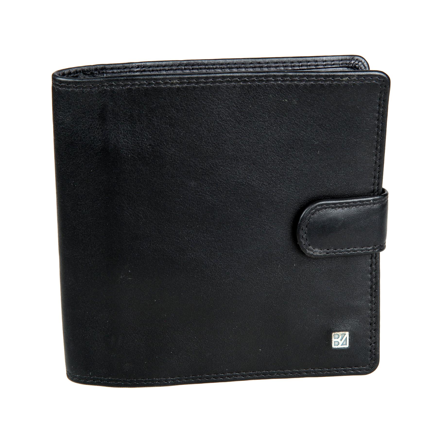 Визитница мужское Bodenschatz, цвет: черный. 8-789INT-06501Визитница мужское Bodenschatz выполнена из натуральной кожи. Закрывается клапаном на кнопке, внутри блок прозрачных файлов для визитных карточек, который вмещает тридцать четыре карточки, два потайных кармана, семь отделений для пластиковых карт, три дополнительных кармана.