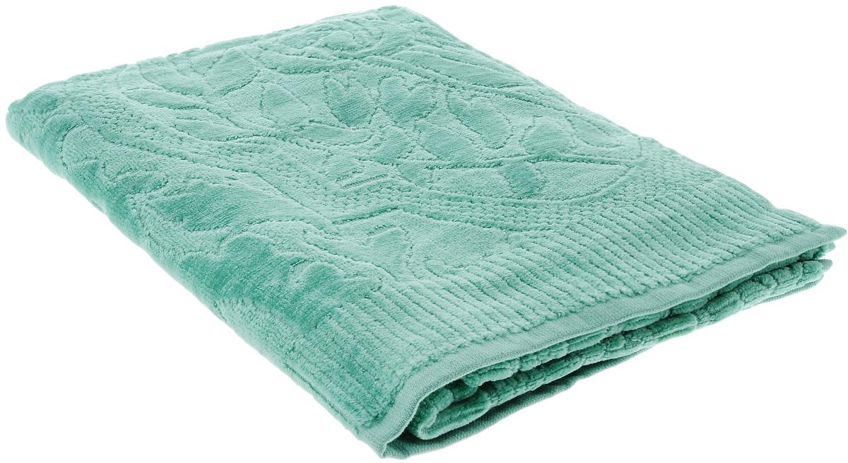 Полотенце Guten Morgen Виридиан, цвет: зеленый, 50 х 90 см68/5/2При производстве полотенца Guten Morgen Виридиан используется сырье самого высокого качества: безопасные красители и 100% хлопок. Полотенца - это просто необходимый атрибут каждой ванной комнаты в любом доме. Полотенца Guten Morgen отлично впитывают влагу, комфортны для кожи, не содержат аллергенных красителей, имеют стойкий к стирке цвет.Состав: 100% хлопок; Размер: 50 х 90 см.