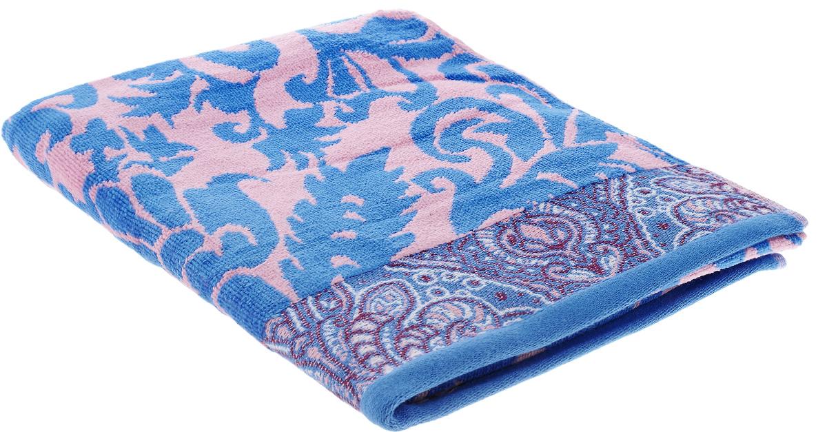 Полотенце Guten Morgen Гоа, цвет: синий, розовый, 70 х 130 смES-412При производстве полотенца Guten Morgen Гоа используется сырье самого высокого качества: безопасные красители и 100% хлопок. Полотенца - это просто необходимый атрибут каждой ванной комнаты в любом доме. Полотенца Guten Morgen отлично впитывают влагу, комфортны для кожи, не содержат аллергенных красителей, имеют стойкий к стирке цвет.Состав: 100% хлопок; Размер: 70 х 130 см.