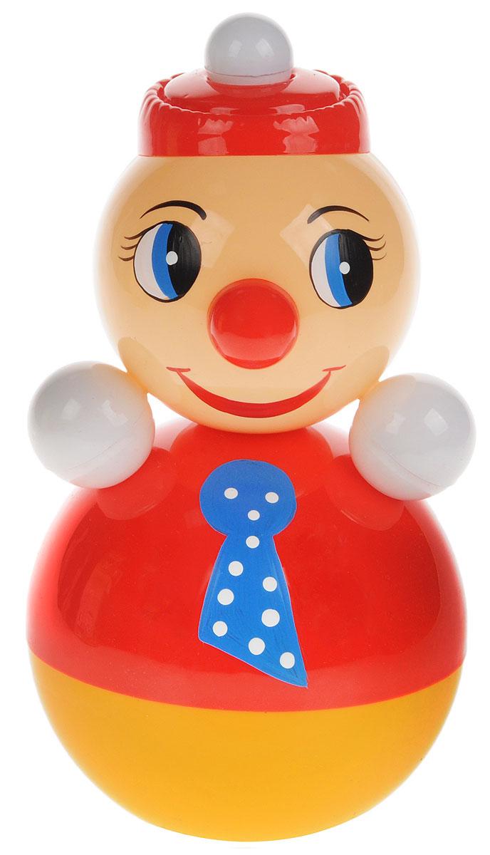 Завидов Неваляшка Клоун цвет красный завидов неваляшка гриб