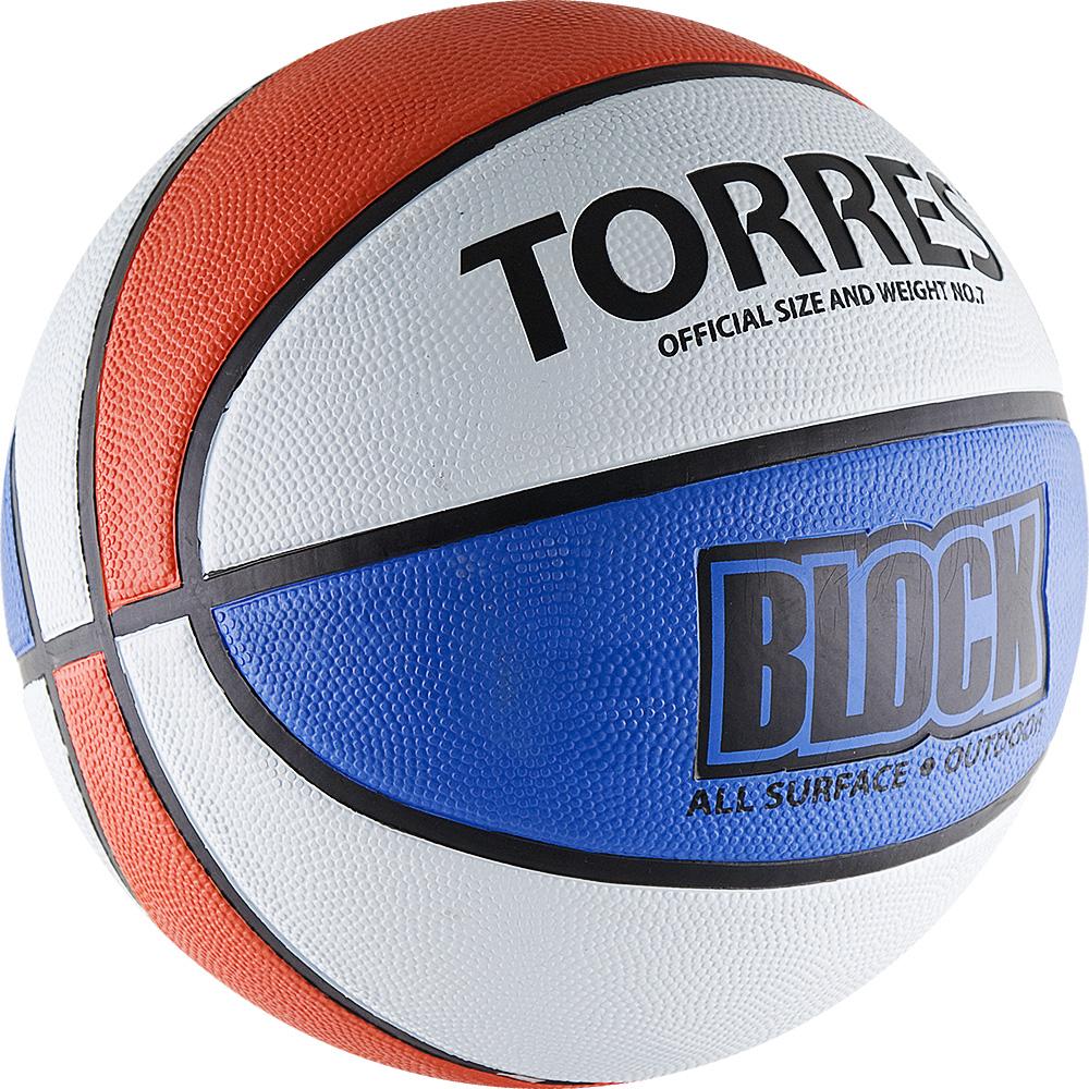 Мяч баскетбольный Torres Block, цвет: синий, белый, красный. Размер 728260476Основные характеристикиВид: баскетбольныйУровень игры: любительскийРазмер: 7Количество панелей: 8Тип соединения панелей: клееныйВес: 567-650грОкружность: 74,9-78смЦвет основной: белыйЦвет дополнительный: синий, красный, черныйМатериал камеры: бутиловаяМатериал обмотки камеры: нейлонМатериал покрышки: резинаМяч подходит для игры на улице и в залеСтрана-производитель: Китай Упаковка: пакет (поставляется в сдутом виде)Достаточно традиционный дизайн мяча с чередующимися цветными панелями не только делает его ярким, но и служит для отработки передач и трехочковых бросков. Поверхность из износостойкой резины с глубокими каналами позволяет эксплуатировать мяч для игры на любых типах поверхностей, в том числе и на жестких. Размер 7 для мужчин и для юниоров старше 15 лет.