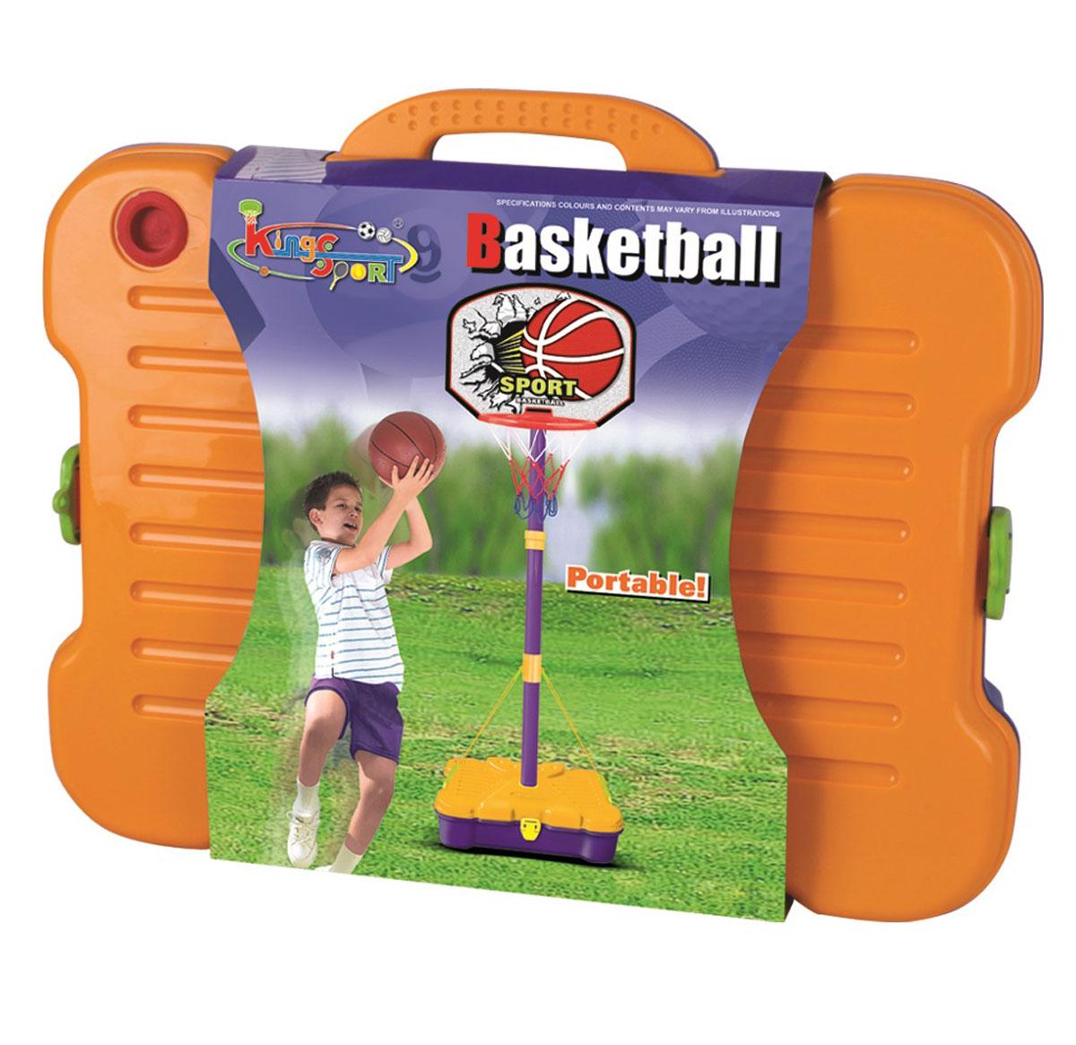 Стойка баскетбольная Torres TX31297120330_yellow/blackБаскетбольная стойка TX31297 - это набор для начинающих маленьких спортсменов. Благодаря стойке ребенок будет развивать координацию движений, ловкость и сноровку. Высота регулируется от 90 см до 162 см. Конструкция стойки выполнена из полипропилена и стали, и она является сборно-разборной.Размер щита: 42,5 х 31 см.Мяч: диаметр - 15 см.Вес: 1,68 кг.