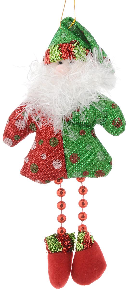 Украшение новогоднее подвесное Феникс-Презент Дед Мороз. 42527NLED-454-9W-BKНовогоднее украшение Феникс-Презент Дед Мороз отлично подойдет для декорации вашего дома и новогодней ели. Игрушка выполнена из полиэстера в виде забавного Деда Мороза. Украшение декорировано блестящей нитью и бусинами и оснащено специальной текстильной петелькой для подвешивания. Елочная игрушка - символ Нового года. Она несет в себе волшебство и красоту праздника. Создайте в своем доме атмосферу веселья и радости, украшая всей семьей новогоднюю елку нарядными игрушками, которые будут из года в год накапливать теплоту воспоминаний.