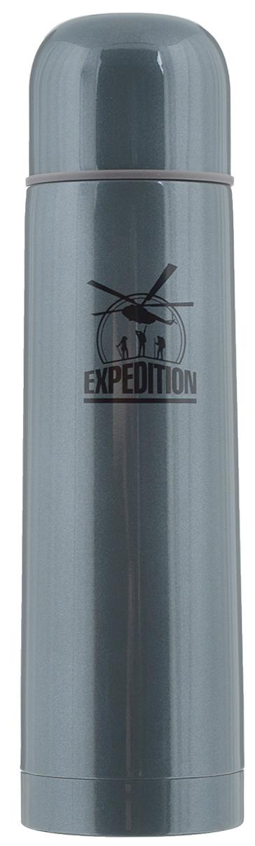 Термос Экспедиция Green Line, с чехлом, 500 млETSB101-50Термос с узким горлом Экспедиция Green Line изготовлен из высококачественной нержавеющей стали и пластика. Вакуумная конструкция термоса сохранит содержимое горячим до 24 часов. Закручивающаяся пробка предохраняет от проливания и позволяет наливать напиток не отвинчивая ее полностью. Внешнюю крышку можно использовать как чашку. Плотный чехол на молнии, дополненный ремешком, регулируемый по длине, сохраняет температуру и защищает термос при падениях. Преподнесите своим друзьям полезный и оригинальный подарок, чтобы всегда иметь возможность наслаждаться вкусом любимых напитков.Диаметр горлышка по верхнему краю: 4,5 см. Диаметр основания: 6,8 см. Высота термоса: 24,5 см.