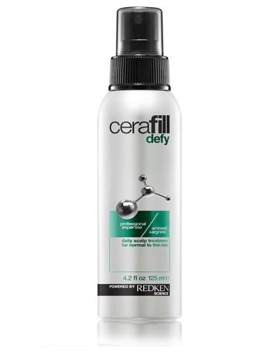 Redken Cerafill Defy Treatment Несмываемый уход для кожи головы, 125 млFS-00897Ежедневный несмываемый уход для нормальных истонченных волос. Помогает предупредить истончение волос и увеличить их диаметр. Легкая инновационная формула, насыщенная аминексилом и аргинином питает кожу головы, поддерживая здоровую среду и создавая условия для естественного роста волос.