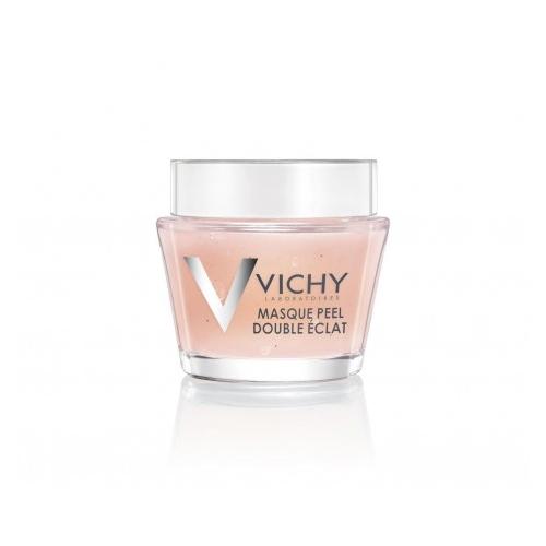 Vichy Маска-пилинг, 75 млFS-54100Минеральная маска-пилинг Двойное сияние - дополнительный уход для улучшения цвета и текстуры кожи. Фруктовые кислоты бережно эксфолиируют отмершие клетки кожи. Частицы вулканического происхождения мягко отшелушивают. Сочетание химического и физического пилингов позволяет максимально щадяще добиться выравнивания текстуры кожи и улучшения цвета лица. Восстанавливает минеральный баланс кожи.