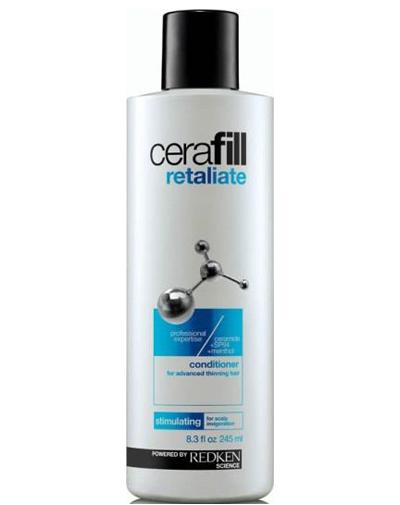 Redken Cerafill Retaliate Кондиционер для стимуляции роста волос, 245 млMP59.4DКондиционер Redken Cerafill для сильно истонченных волос со стимулирующим ментолом и уникальной легкой текстурой крем-геля содержит в себе керамиды, укрепляющие волосы, и SP-94, питающий и поддерживающий здоровую среду кожи головы для улучшения состояния при истончении волос. Придание объема и здорового блеска.Ментол обеспечивает охлаждающий и стимулирующий эффект на коже головы.
