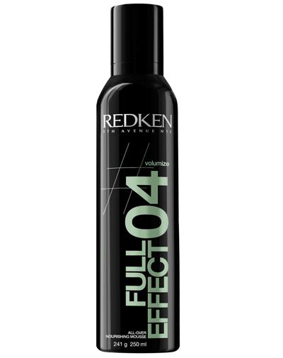 Redken Volume Full Effect 04 Увлажняющий мусс-объем для волос, 250 мл80285305Увлажняющий мусс-объем для волос - это превосходное средство для придания волосам дополнительной плотности и защиты во время укладки от горячего воздуха. Оно эффективно увлажняет и способствует сохранению стойкости цвета после окрашивания. Уникальный компонент Valume Lock Complex создает объем у корней волос и облегчает укладку.
