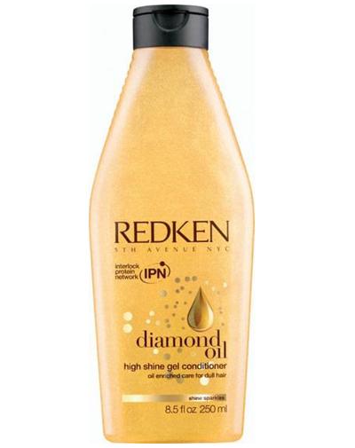 Redken Diamond Oil Кондиционер для увлажнения и блеска, 250 млFS-00897Кондиционер Diamond Oil, обогащенный маслами для восстановления тонких волос, питает, придает волосам мерцающий блеск новое поколение уходов, облегчает расчесывание. Система Sparkling Oil Complex насыщают волосы влагой, придавая им невесомую текстуру и многогранный блеск.