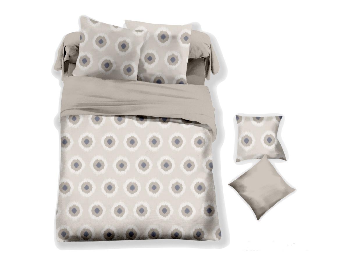 Комплект белья Cleo Дымчатый полькадос, 2-спальный, наволочки 70х70391602Коллекция постельного белья из микросатина CLEO – совершенство экономии, но не на качестве! Благодаря новейшим технологиям микросатин – это прочность, легкость, простота в уходе, всегда яркие цвета после стирки. Микро-сатин набирает все большую популярность, благодаря своим уникальным характеристикам. Окраска материала - стойкая, цветовая палитра - яркая, насыщенная. Микро-сатин хорошо впитывает влагу, а после стирки быстро сохнет, становясь шелковистым на ощупь, мягким и воздушным. Комплект состоит из пододеяльника, двух наволочек и простыни.