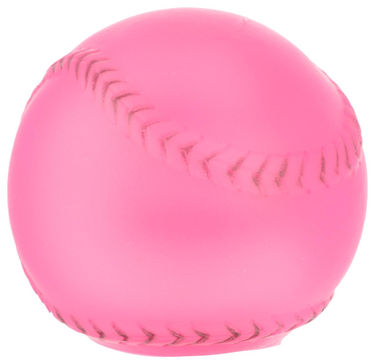 Игрушка для собак Каскад Мячик, с пищалкой, цвет: розовый, диаметр 7 см0120710Игрушка Каскад Мячик изготовлена из прочной и долговечной резины, устойчивой к разгрызанию. Необычная и забавная игрушка прекрасно подойдет для собак, любящих игрушки с пищалками. Такая игрушка порадует вашего любимца, а вам доставит массу приятных эмоций, ведь наблюдать за игрой всегда интересно и приятно. Диаметр: 7 см.
