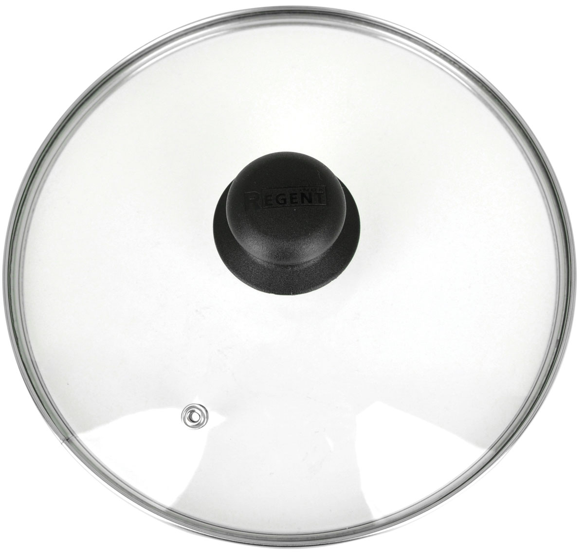 Крышка Regent Inox, стеклянная. Диаметр 28 см28Крышка Regent Inox изготовлена из термостойкого стекла. Обод, выполненный из высококачественной нержавеющей стали, защищает крышку от повреждений, а ручка, выполненная из термостойкого пластика, защищает ваши руки от высоких температур. Крышка удобна в использовании, позволяет контролировать процесс приготовления пищи. Имеется отверстие для выпуска пара. Характеристики:Материал: стекло, нержавеющая сталь, пластик. Диаметр: 28 см. Размер упаковки: 28 см х 28 см х 6 см. Производитель:Италия. Артикул: 28.