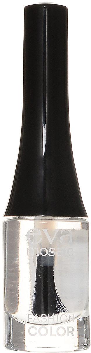 Eva Mosaic Лак для ногтей Fashion Colour, 6 мл, 052 Прозрачный685385Стойкие лаки для ногтей в экономичной упаковке небольшого объема - лак не успеет надоесть или загустеть! Огромный спектр оттенков - от сдержанной классики до самых смелых современных тенденций.- легко наносятся и быстро сохнут- обладают высокой стойкостью и зеркальным блеском- эргономичная плоская кисть для быстрого, аккуратного и точного нанесения. Возможно изменение этикетки.