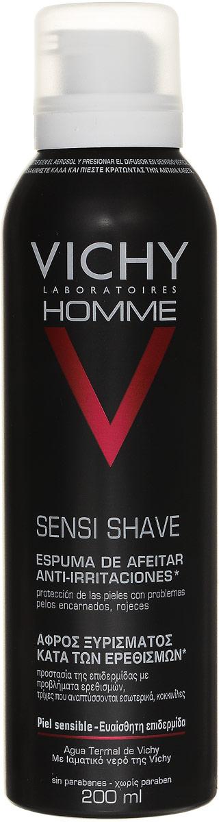 Vichy Пена для бритья для чувствительной кожи Vichy Homme , склонной к покраснению, 200 мл valeri женские наручные часы 3645l kb