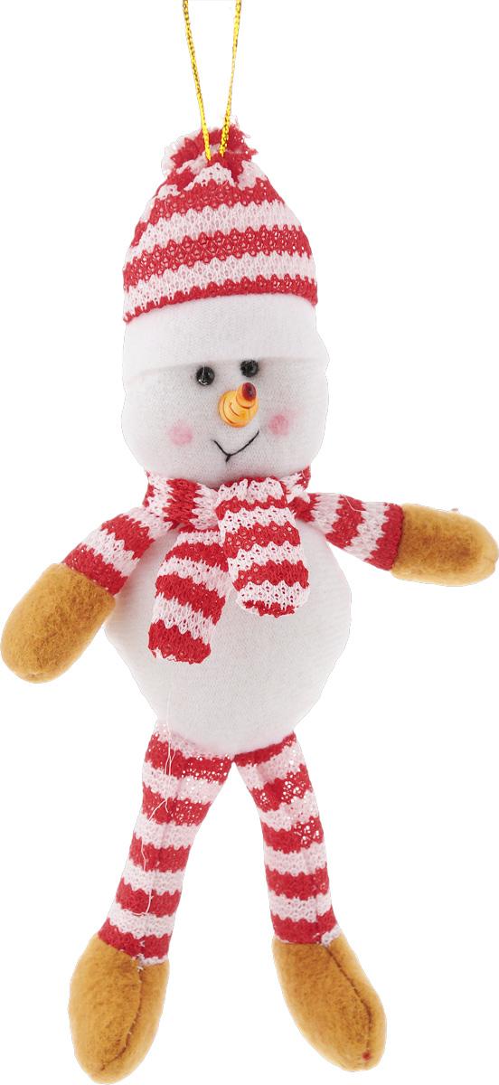 Украшение новогоднее подвесное Феникс-Презент Снеговик, высота 19 см09840-20.000.00Новогоднее украшение Феникс-Презент Снеговик отлично подойдет для декорации вашего дома и новогодней ели. Игрушка выполнена из полиэстера в виде забавного снеговика. Украшение оснащено специальной текстильной петелькой для подвешивания. Елочная игрушка - символ Нового года. Она несет в себе волшебство и красоту праздника. Создайте в своем доме атмосферу веселья и радости, украшая всей семьей новогоднюю елку нарядными игрушками, которые будут из года в год накапливать теплоту воспоминаний.