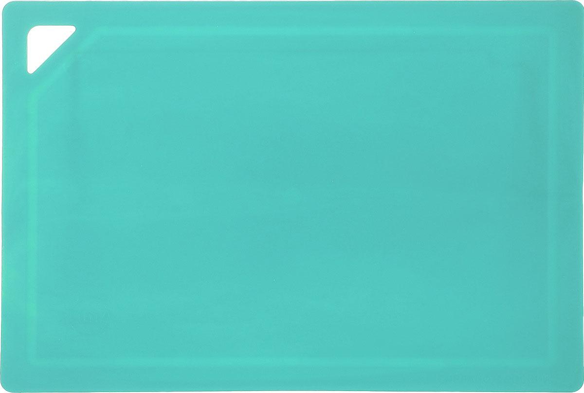 Доска разделочная средняя TimA, цвет: мятный. ДРГ-3022115510310*210 мм (полиуретан)