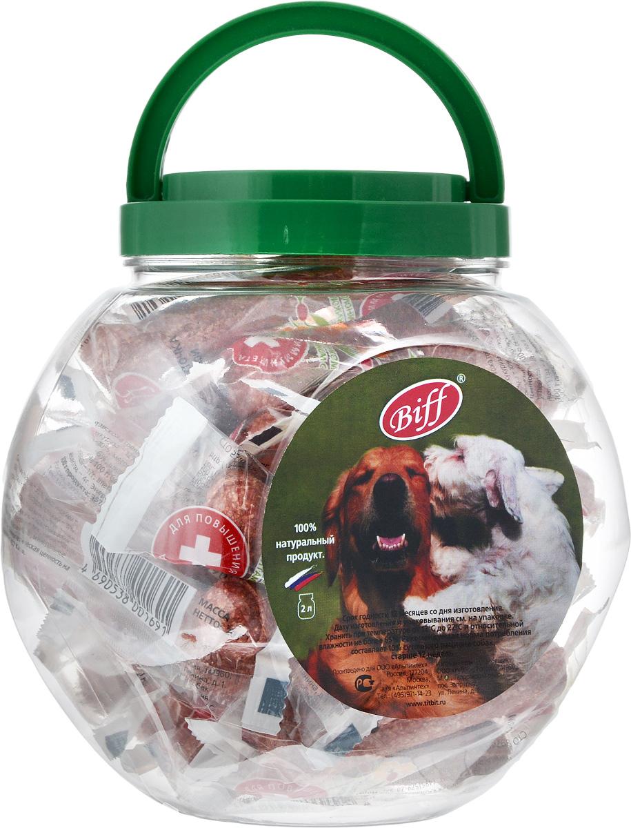 Лакомство для собак Biff, мясная косточка с индейкой, 2 л0120710Лакомство Biff - идеальное лакомство для собак, подверженных пищевой аллергии. Мясо индейки хорошо усваивается, не содержит излишнего межмышечного жира, является источником биологически полноценного белка. Шиповник и витамин С повышают иммунитет. В плодах шиповника содержится большое количество витаминов С, К, В2, В5 , каротина, сахаров, пектина, органических кислот, а также солей железа, марганца, фосфора, кальция.Состав: Кожа говяжья – 35%, мясо индейки – 15%, кукуруза – 12%, желудок говяжий – 11%, гречка – 10%, мясокостная мука – 7%, кишки говяжьи – 6%, шиповник – 4%.Пищевая ценность в 100 г продукта: белки - 51 г, жиры - 12 г, углеводы - 17 г, влага - 11 г, минеральные вещества - 4 г.Энергетическая ценность на 100 г: 357 ккал.Товар сертифицирован.