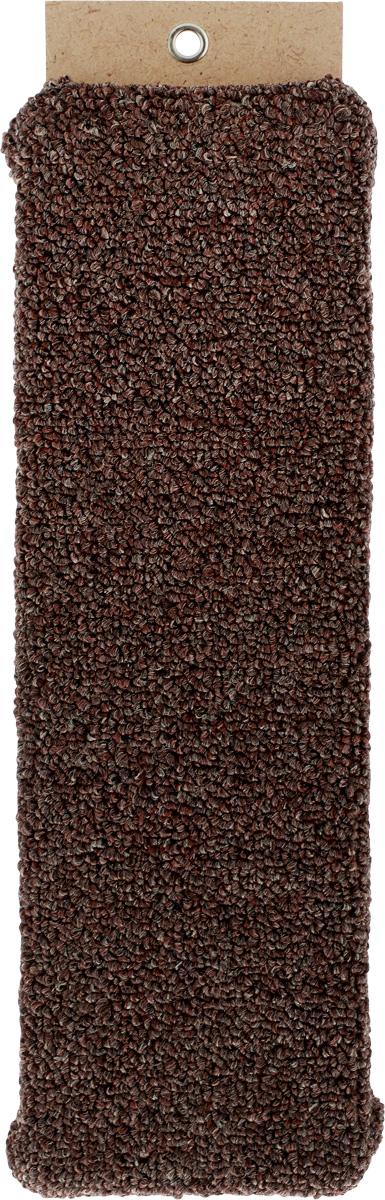 Когтеточка Меридиан, настенная, цвет: коричневый, ширина 12 см0120710Настенная когтеточка Меридиан предназначена для стачивания когтей вашей кошки и предотвращения их врастания. Волокна ковролина обеспечивают естественный уход за когтями питомца. Когтеточка позволяет сохранить неповрежденными мебель и другие предметы интерьера.Длина когтеточки: 40 см.Длина рабочей части: 37 см.