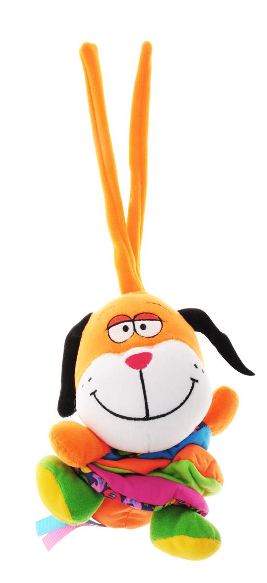 Bondibon Мягкая развивающая игрушка Собака, Bondibon Creatures Co., LTD