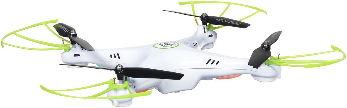 Syma Квадрокоптер на радиоуправлении X5HW цвет белый зеленый